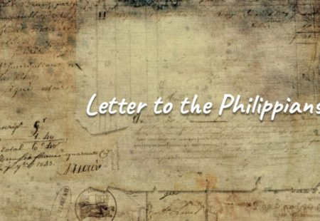 Letter to the Philippians – week 2